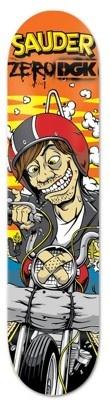 New Zero Skateboard!    Keegan Sauder Dirty Zero Kids DGK Collab skateboard deck by Zero  8.25