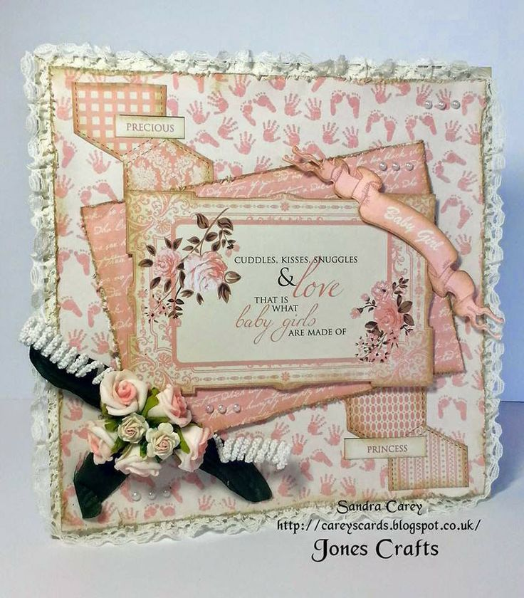 Carey's Cards Julys new release from Kaisercraft called Pitter Patter