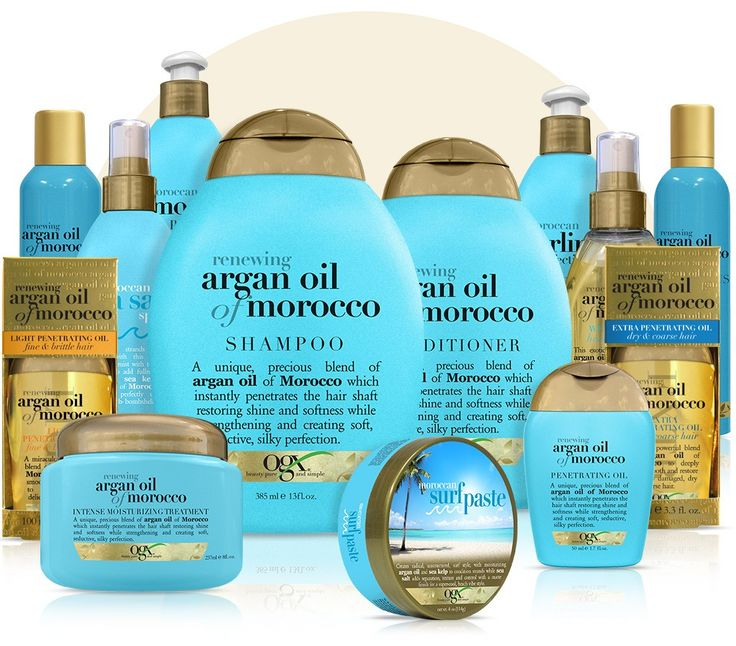 The secret in our signature line is the argan oil that we source straight from Morocco. Rich in natural vitamin E and super-charged antioxidants, this special ingredient has been making hair gorgeous