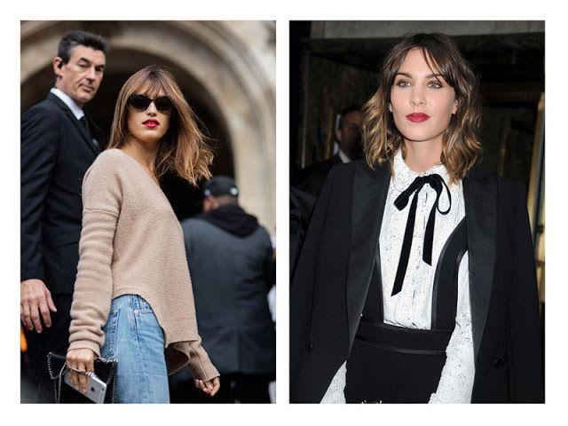 Акценты в образе: помада + базовая одежда