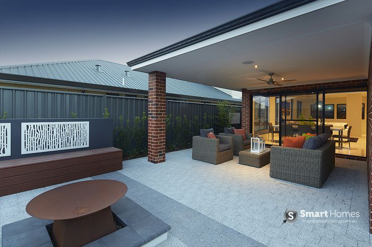 modern patio alfresco design #patio #alfresco #outdoors #backyard #smarthomesforliving