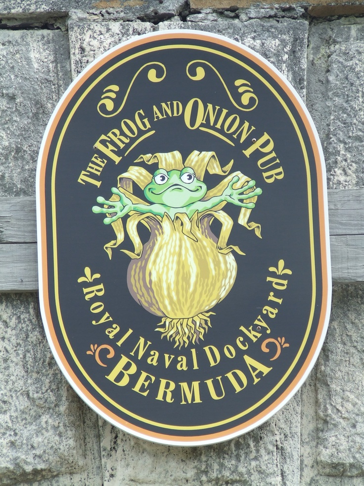 The Frog and Onion Pub, Royal Naval Dockyard Bermuda