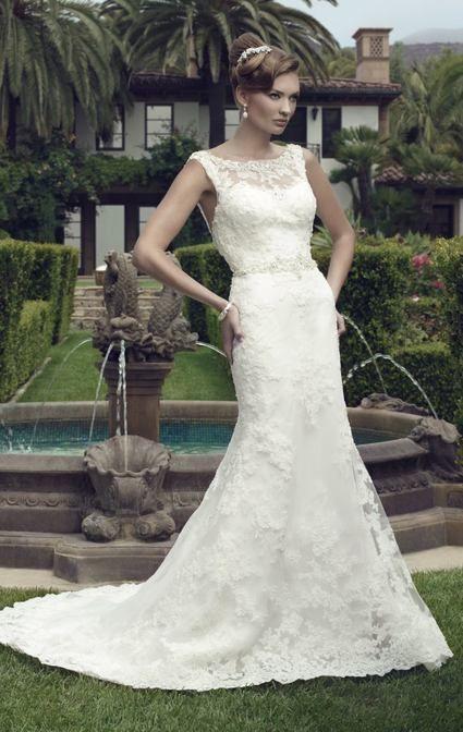 Robe de Mariée NEUVE Dentelle Casablanca Bridal T38 - Yvelines