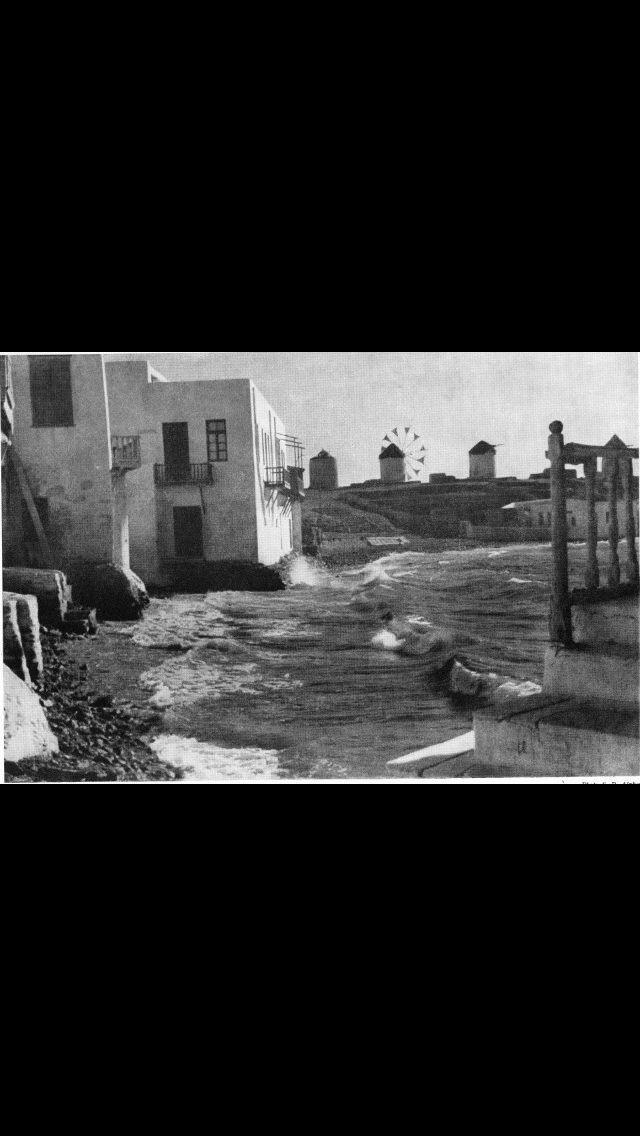 #Little #Venice of #Mykonos ,1937.