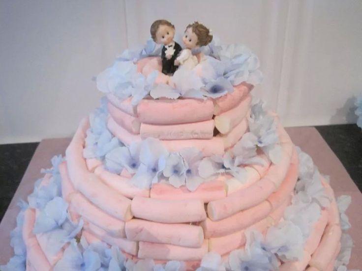 Tarta de nubes para bodas