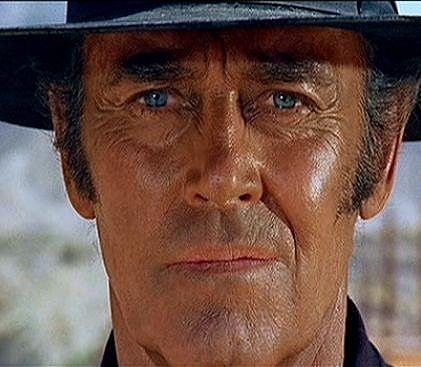 "Frank.  killer.  Henry Fonda.  ""Once upon a time in the West""...  dir. Sergio Leone, 1968."