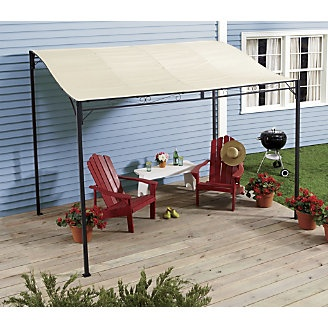 Sunshade Awning Gazebo from Through the Country Door®
