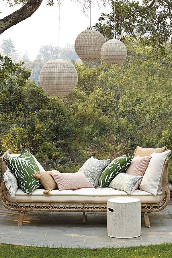 Presenting The World S Most Gorgeous Outdoor Furniture Outdoor Daybed Patio Decor Outdoor Space Design