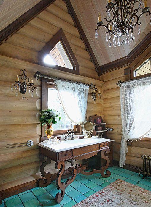 Архитектурный проект усадьбы из клееного бревна | Деревянная архитектура | Журнал «Деревянные дома»