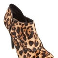 Rockport - Presia Zip Shootie - Heeled Boots (Leopard Pony)  available at www.shoesonline.com.au