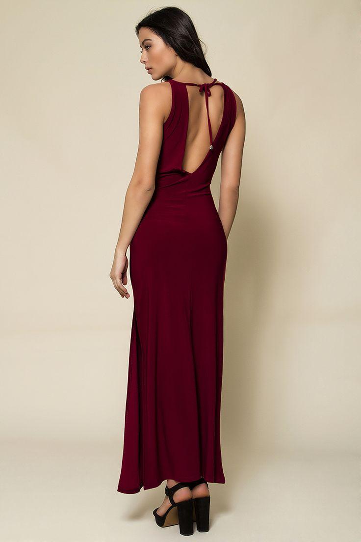 Backless Maxi Φόρεμα - ΡΟΥΧΑ -> Φορέματα & Φόρμες | Made of Grace