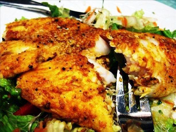 Indian Tandoori Fish.
