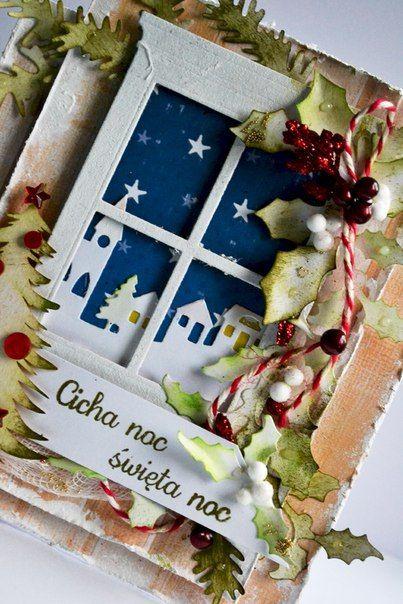 Рождественская открытка фото #6