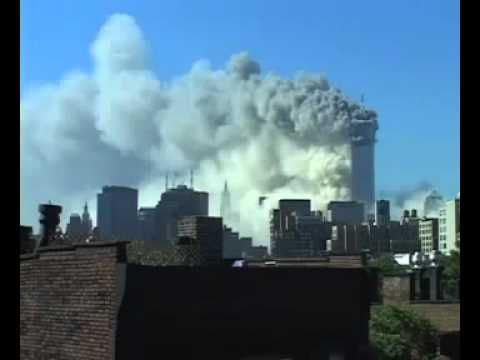 9/11 September 11  2001 World Trade Center collapse footage.