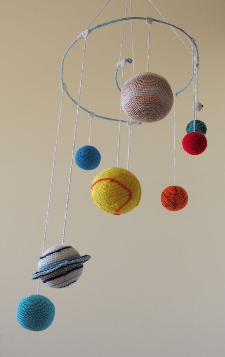 Sistema solar para un bebé