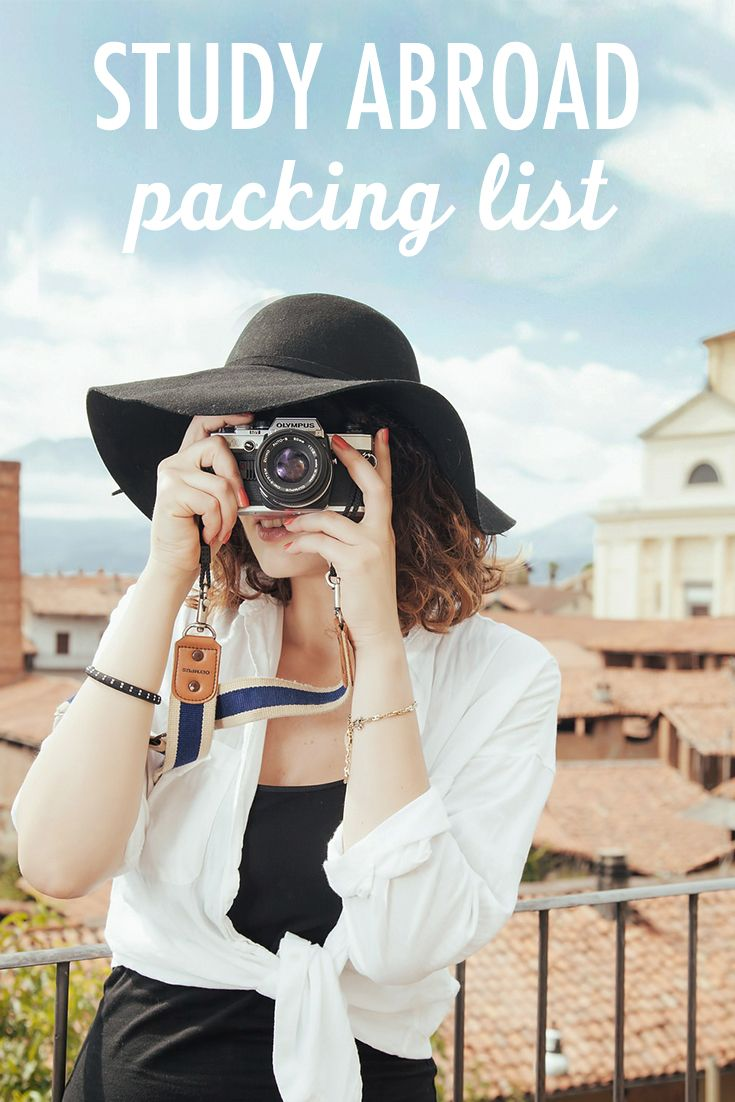 The most important thing to remember when packing for study abroad is that you don't need to bring everything. Your study abroad destination will have stores and supermarkets. Here's what to bring!
