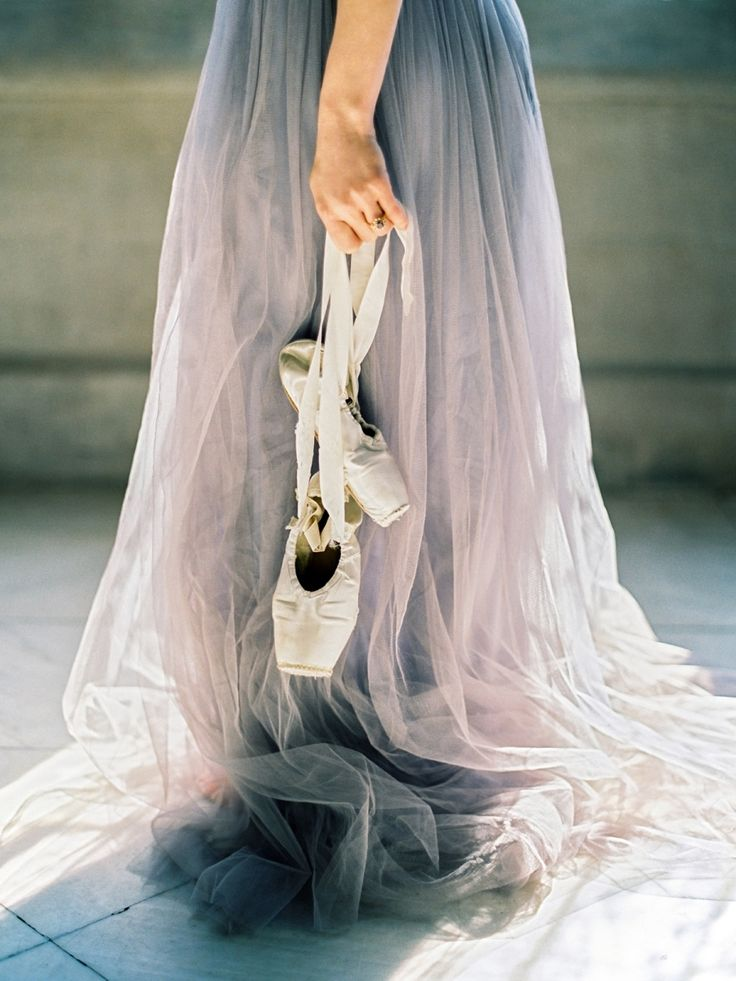 Dreamy ballerina inspired bridal shoot: Photography : Love by Serena Read More on SMP: http://www.stylemepretty.com/little-black-book-blog/2016/07/19/ballerina-dreams-inspired-wedding-shoot/