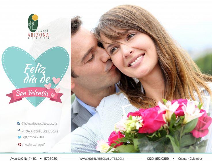 Celebrar esta fechas especiales fortalece el amor. Feliz Día! #felizdia #Sanvalentin #parejas #amor #cucuta #colombia