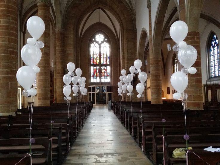 Raumdekoration mit Luftballons. Spektakulär! Einzigartig! Großartig!