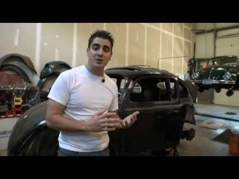 The Classic VW Beetle How to Gut Strip your BuG for Paint Part 1