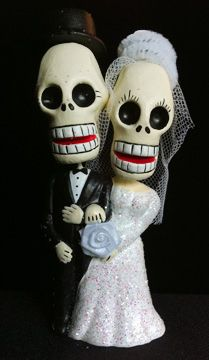 Potential cake topper: Wedding Supplies, Sugar Skull, Cute Cakes, Cinco De Mayo Wedding Cakes, Theme Wedding, Cute Wedding Cakes, Wedding Theme, Wedding Cakes Toppers, Dead Cakes