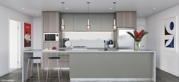 the mason apartment luxury kitchen smeg