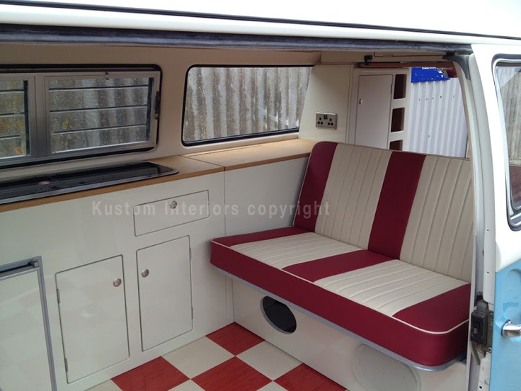 Camper Interiors maybe red/white