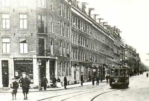De Kinkerstraat in Amsterdam
