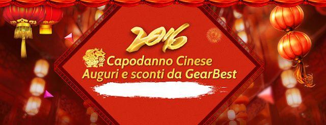 Appunti sul Blog: Capodanno cinese, auguri e sconti da GearBest