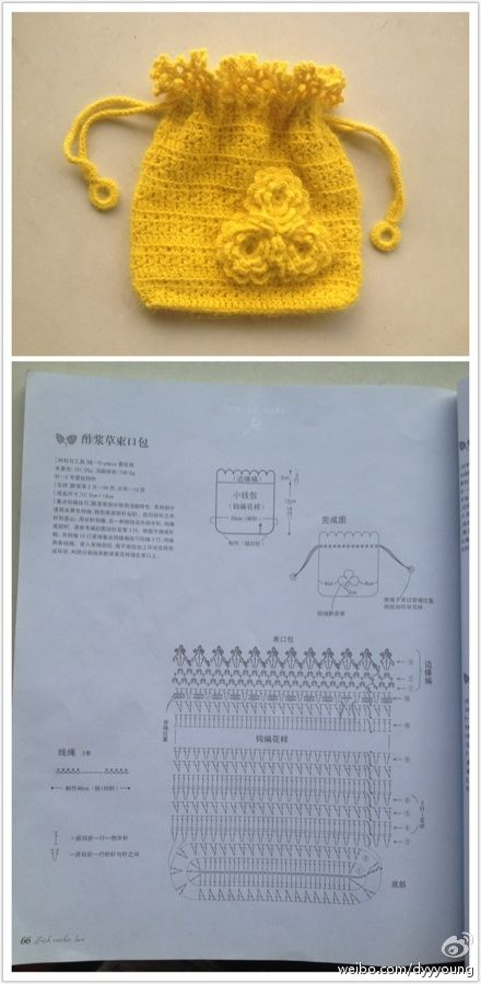 Crochet Mini Bag - Chart