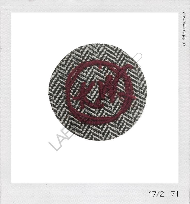 Emotion Collection 17-2 #labeltexgroup #fashion #patch #badge #wool