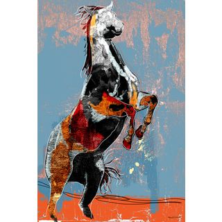 @Overstock.com - Maxwell Dickson 'Fighting Horse' Modern Canvas Wall Art - Artist: Maxwell DicksonTitle: Fighting HorseProduct type: Gallery-wrapped canvas art   http://www.overstock.com/Home-Garden/Maxwell-Dickson-Fighting-Horse-Modern-Canvas-Wall-Art/8345206/product.html?CID=214117 $63.89