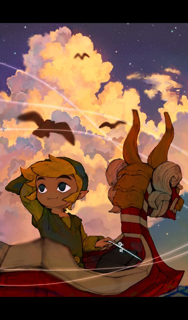 Day 23: Game with the best aesthetic: The Legend of Zelda: The Wind Waker. This game is absolutely GORGEOUS and didn't need a remake (though the remake is even prettier). It's also probably my favorite Zelda game (this or Majora's Mask).