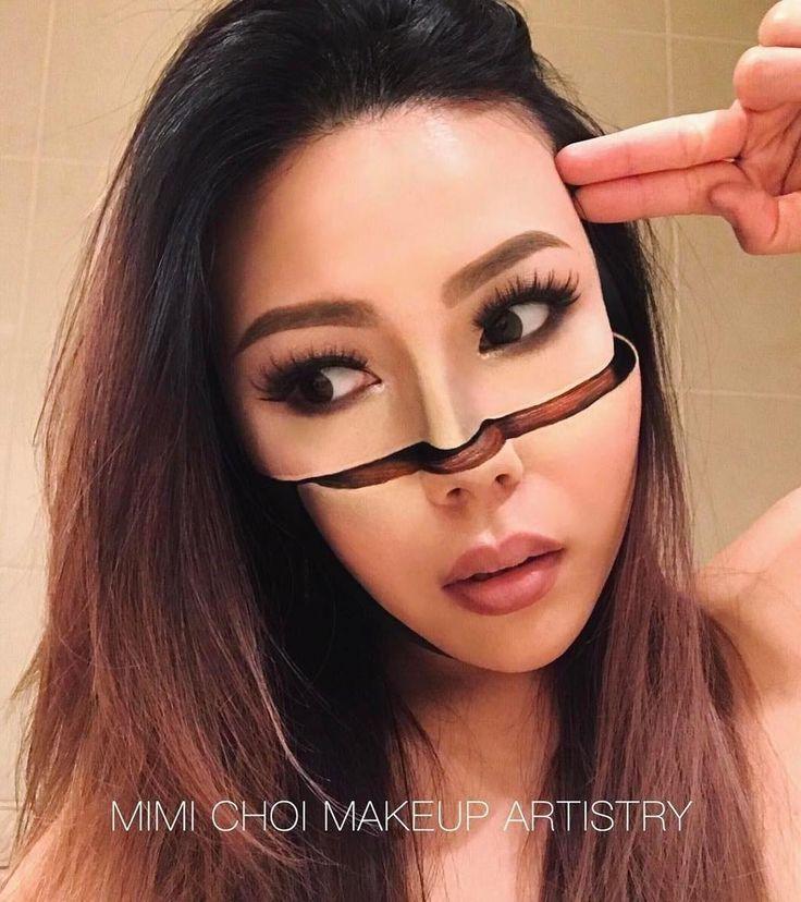 MIMI CHOI , MAKEUP -  Se makeup-artistens utrolige optiske illusjoner