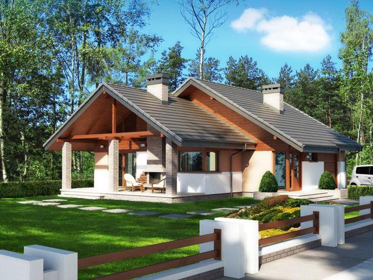 Projekt Maja – to bez wątpienia dom dla osób ceniących klasyczny wygląd budynku i nowoczesne, przestronne wnętrza. Cechą charakterystyczną projektu Maja jest rozłożysty, dwu-spadowy dach, który nadaje budynkowi monumentalny wygląd.