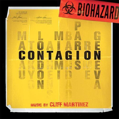 Cliff Martinez - Contagion Soundtrack Limited Edition Colored Vinyl LP November 3 2017 Pre-order