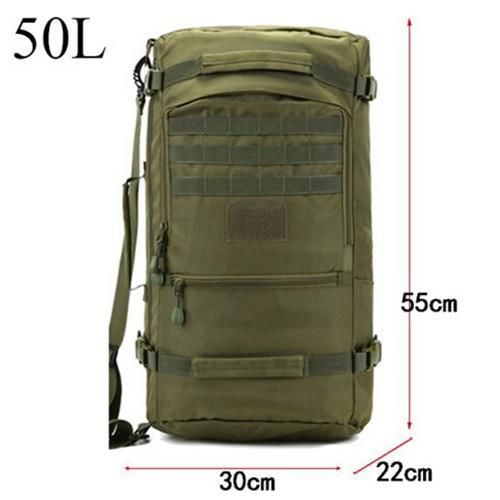 """Recon"" Waterproof Multifunction Urban Survival Backpack"