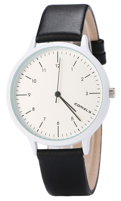 Womens Comely Snow White Leather Watch - $7.00 on AliExpress via Thieve.co