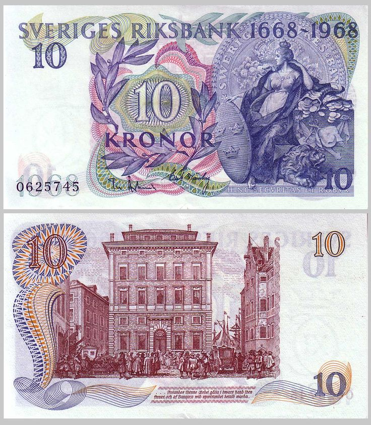 sweden currency | Kingdom of Sweden Paper Money Collection