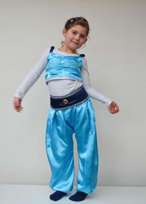 verkleedkledij/ naaien/ prinses Jasmine / Grote Disney verkleedboek