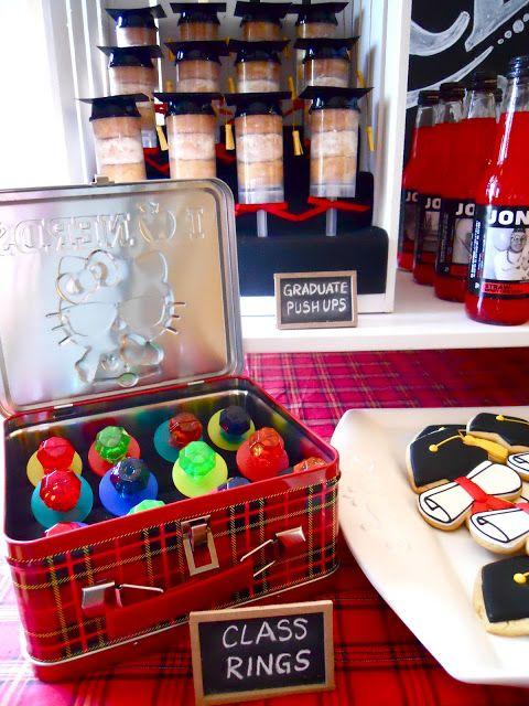 Ideas for kindergarten graduation...so cute! Love the cookies!