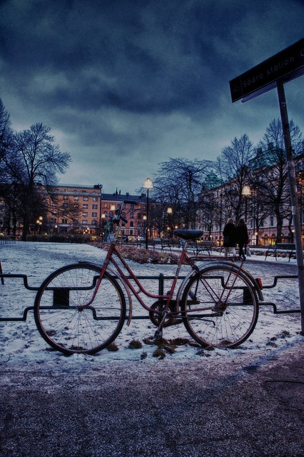 Bicycle @ Mariatorget, Stockholm