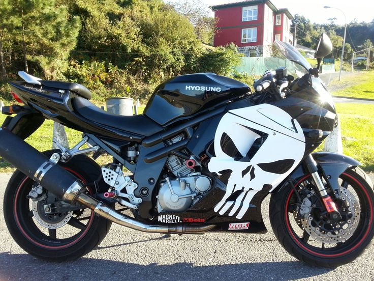 A customer took on a tough challenge of installing a punisher decal on an uneven surface