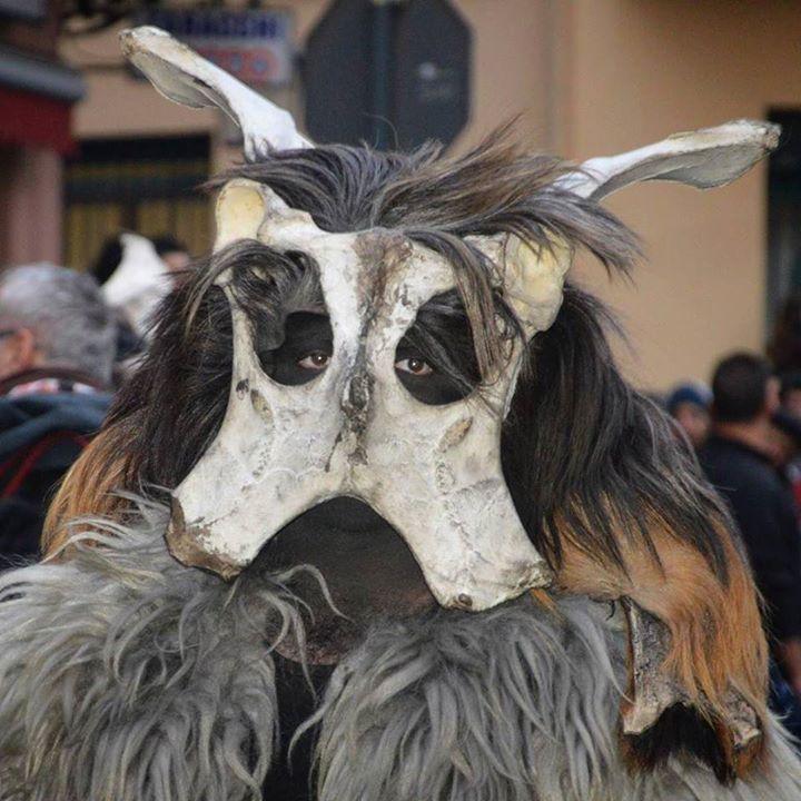 by http://ift.tt/1OJSkeg - Sardegna turismo by italylandscape.com #traveloffers #holiday | A Maimone su carrasegare antigu samughesu. S'AINU ORRIADORE (L'asino che raglia) È la maschera tipica di Scano Montiferro ed è costituita dall'osso del bacino di un bovino o di un asino. Trascinano con se delle catene e muniti di un bastone vanno alla ricerca di un'anima da poter rubare e potersene così impossesare. Secondo una credenza popolare la maschera rappresentava il diavolo che veniva sulla…