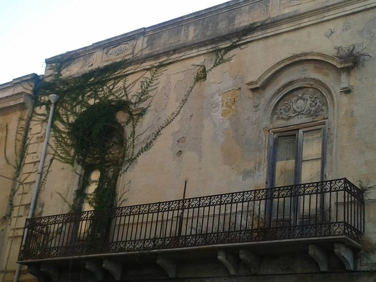 Mazzara del Vallo - Sicily. Buldings details