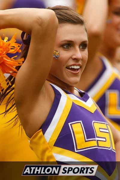 LSU Tigers Cheerleaders   AthlonSports.com
