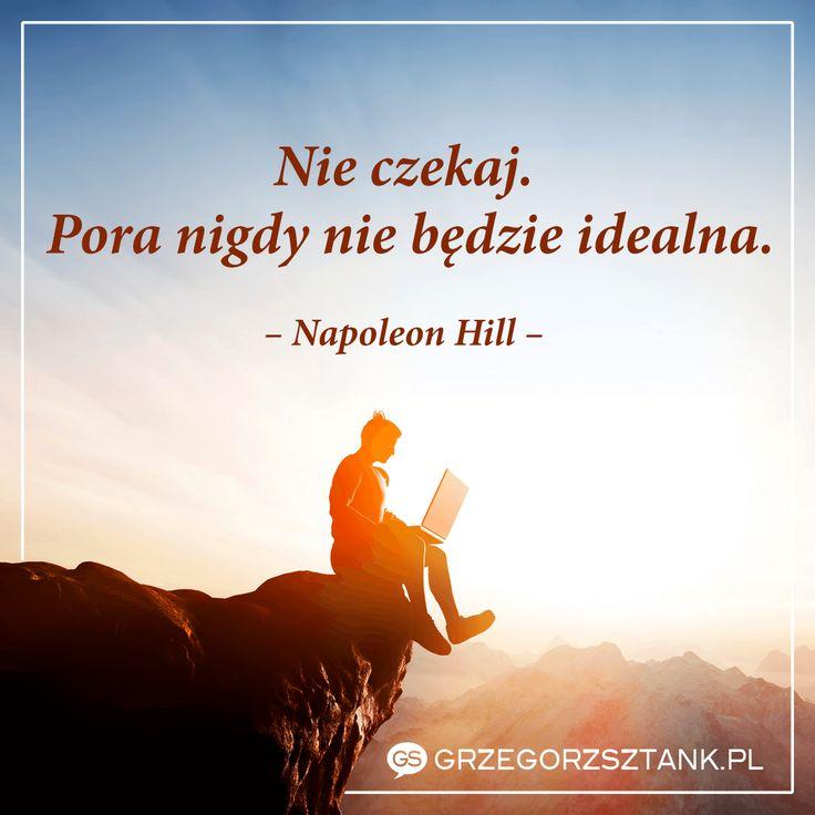 Tajemnica szczęścia - wyjsć z marzeniami z własnej głowy i realizować je tu i i teraz. #motywacja #szczęście #napoleon #pora #tajemnica #marzenia #tuiteraz