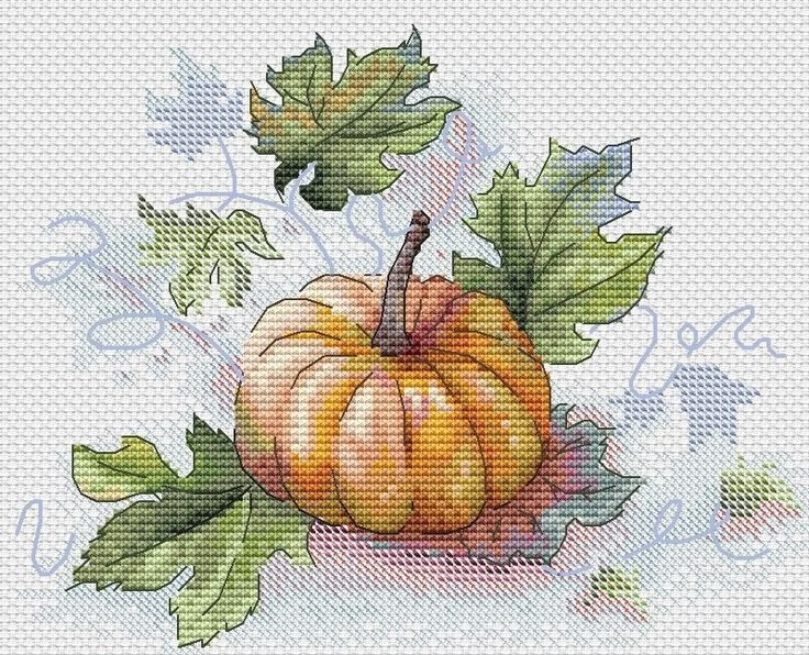 A Pumpkin Cross Stitch Pattern – Crossstitchclub