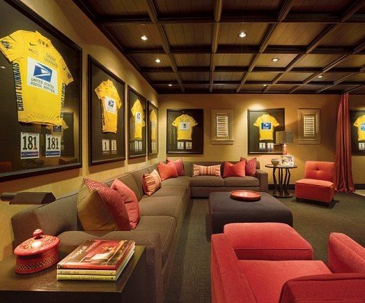 Lance Armstrong : Architectural Digest