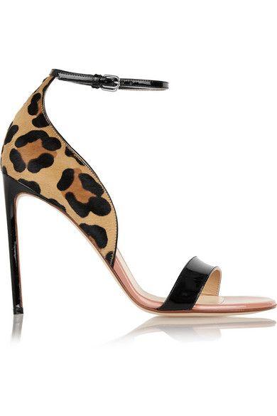 Leopard Print Calf Heels